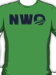 NWO- New World Order parody T-Shirt