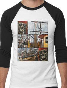 tall ship festival Men's Baseball ¾ T-Shirt