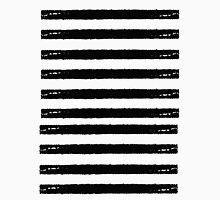 Black Grunge Stripe Unisex T-Shirt