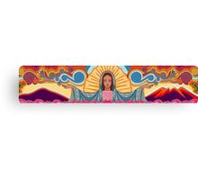 Virgin Mary of Guadalupe Illustration Canvas Print