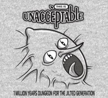 Unacceptable Kids Tee