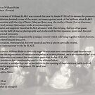 Thank you for supporting this project_William Blake - WE NEED YOU ! by Andre  Furlan
