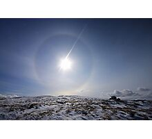 Sun Halo Photographic Print