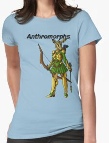 Anthromorphs Doe Womens Fitted T-Shirt