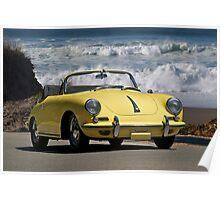 1965 Porsche 356 Cabriolet Poster