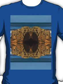 COVE BAY - ROCKS AND WAVES MIRRORED T-Shirt