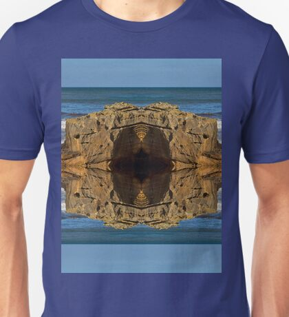 COVE BAY - ROCKS AND WAVES MIRRORED Unisex T-Shirt