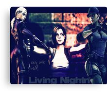 Living Nightmare Canvas Print