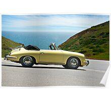 1965 Porsche 356 C Cabriolet I Poster