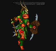 Anthromorphs frog warrior Unisex T-Shirt