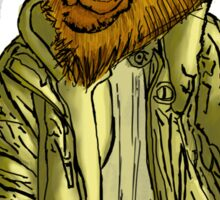 Anthromorphs Lion Sticker