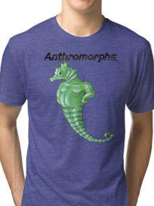 Anthromorphs Seahorse Tri-blend T-Shirt
