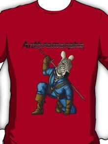 Anthromorphs Zebra T-Shirt