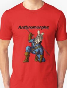 Anthromorphs Zebra T-Shirt