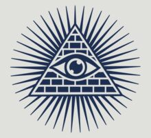 Eye Of Providence - All Seeing Eye Of God - Symbol Omniscience by nitty-gritty