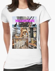 Melbourne Festival Womens Fitted T-Shirt