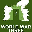 Minimalist 'World War Three' Poster by Abboz