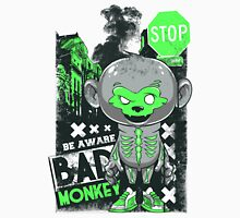 Bad Monkey Green And Grey Unisex T-Shirt