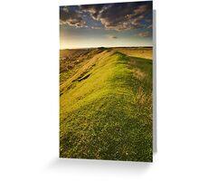 Sunset Ridge Greeting Card