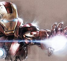 Iron Man by chickenhead