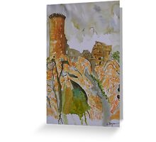 Herm Castle  Greeting Card