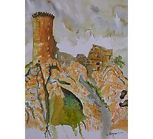 Herm Castle  Photographic Print