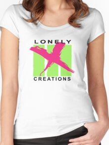 Lonely Creations Three Strikes X Out Women's Fitted Scoop T-Shirt