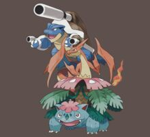 Kanto Mega Starters by Stephen Dwyer