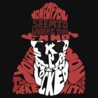 Rorschach typography by RebeccaMcGoran