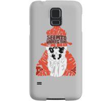 Rorschach typography Samsung Galaxy Case/Skin