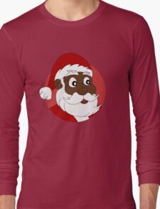 Santa Claus cartoon Long Sleeve T-Shirt