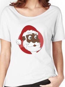 Santa Claus cartoon Women's Relaxed Fit T-Shirt