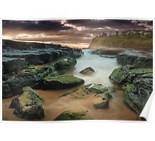 'South Bombo Beach, Kiama NSW' Poster