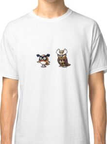 Hoothoot evolution Classic T-Shirt