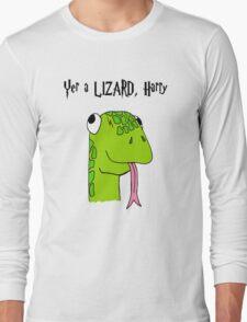 """""""Yer A Lizard Harry"""" Harry Potter Shirt Long Sleeve T-Shirt"""