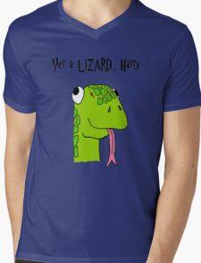 """""""Yer A Lizard Harry"""" Harry Potter Shirt Mens V-Neck T-Shirt"""