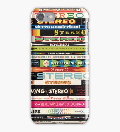 Stereo Stack Case iPhone Case/Skin
