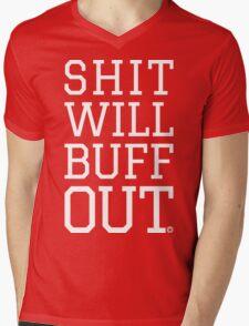 Shit Will Buff Out | FreshTS Mens V-Neck T-Shirt