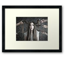 Anything but that Framed Print