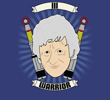 Doctor Who Portraits - Third Doctor - Warrior Unisex T-Shirt