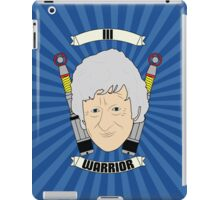 Doctor Who Portraits - Third Doctor - Warrior iPad Case/Skin