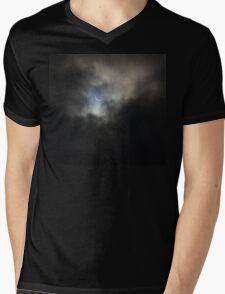 Solar Eclpise Mens V-Neck T-Shirt