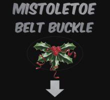 Mistletoe Belt Buckle by FigureDesigns