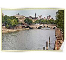 Île de la Cité Poster