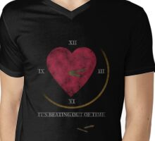 Beating Out of Time - City of the Dammed Mens V-Neck T-Shirt