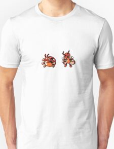 Ledyba evolution  T-Shirt