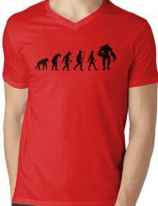 Evolution: Super Tyrant Mens V-Neck T-Shirt