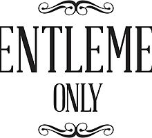 Gentlemen Only by GentlemenOnly