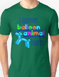 Support Balloon Animal Rights Unisex T-Shirt