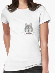 Kingdom Wolf Womens Fitted T-Shirt